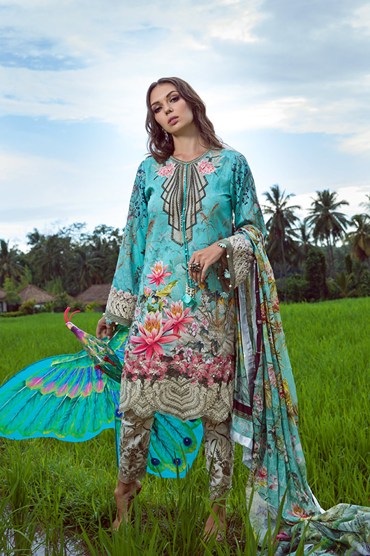 Shiza Hassan's Eid Lawn Dresses Collection 2019 (18)