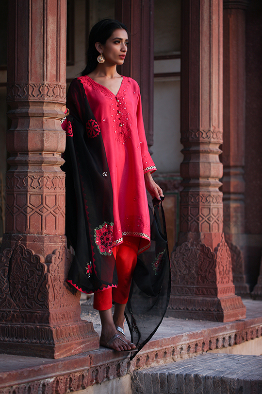Tashkent Eid Dresses Collection 2019 By Misha Lakhani (1)