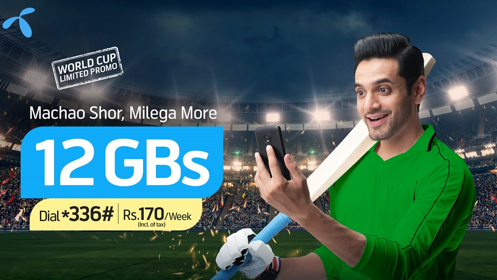 Telenor launches a special data offer for the 2019 Cricket World Cup