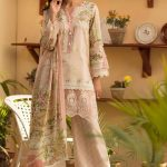 Womens Embroidered Eid Dresses 2019 By Firdous (2)