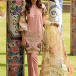 Womens Embroidered Eid Dresses 2019 By Firdous (6)