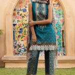 Womens Embroidered Eid Dresses 2019 By Firdous (9)