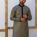 Men's Eid Kurta Kameez And Waistcoat Collection 2019 By Sanaullah Store 3