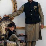 Men's Eid Kurta Kameez And Waistcoat Collection 2019 By Sanaullah Store 4