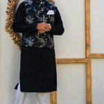 Men's Eid Kurta Kameez And Waistcoat Collection 2019 By Sanaullah Store 1