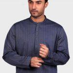 Men's Eid Kurta Kameez And Waistcoat Collection 2019 By Sanaullah Store 9