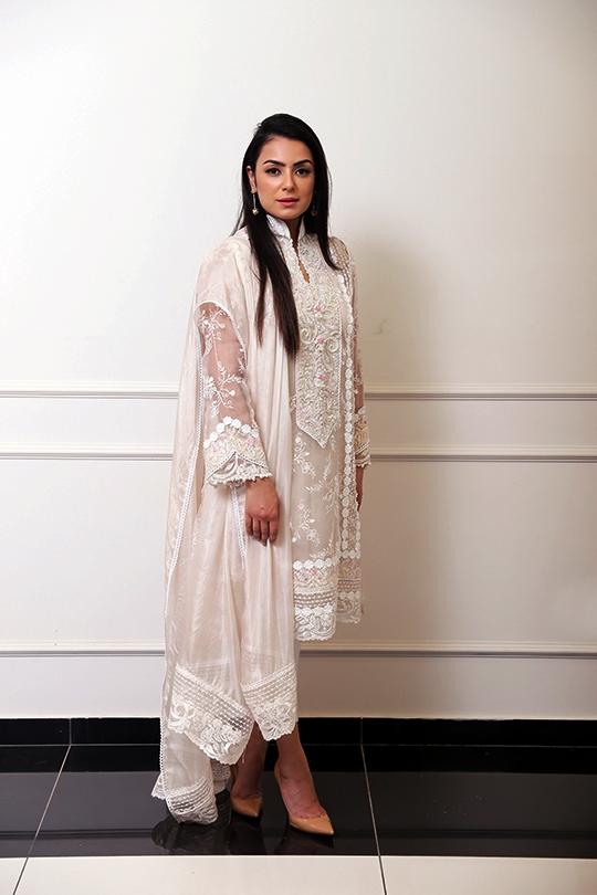 Women's Nureh Eid Collection 2019 By Farah Talib Aziz 9