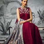 Sakura Frock Eid Collection Style 2019 By Morri's 3