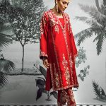 Sakura Frock Eid Collection Style 2019 By Morri's 7