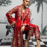 Sakura Frock Eid Collection Style 2019 By Morri's 8