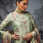 Sakura Frock Eid Collection Style 2019 By Morri's 10