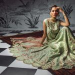 Sakura Frock Eid Collection Style 2019 By Morri's 12