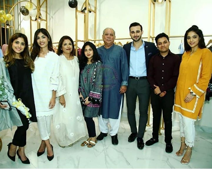 Celebrities in Sanam Jung Sister Anum Jung Launch of the new store (15)