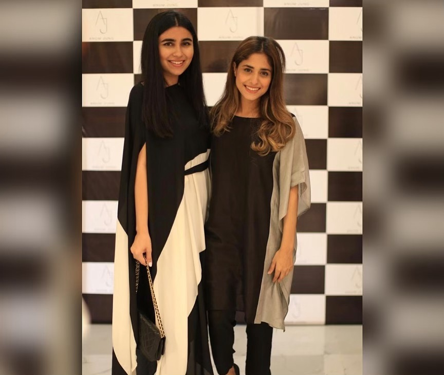 Celebrities in Sanam Jung Sister Anum Jung Launch of the new store (17)