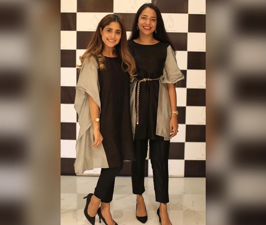 Celebrities in Sanam Jung Sister Anum Jung Launch of the new store (19)