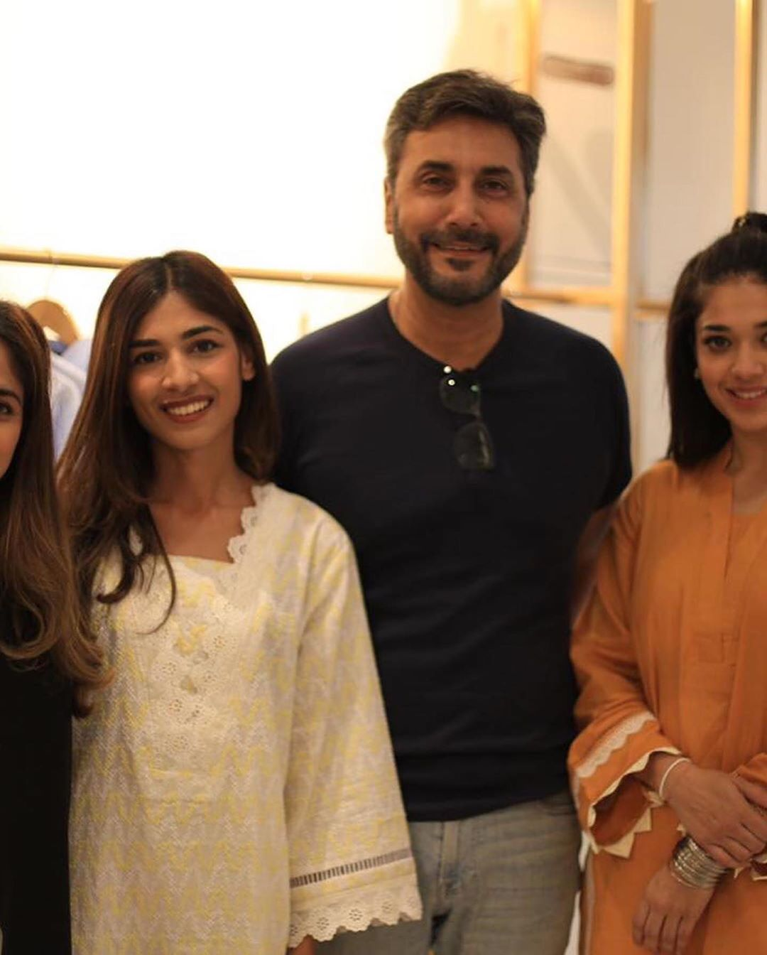 Celebrities in Sanam Jung Sister Anum Jung Launch of the new store (30)