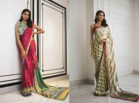 Printed Sarees 2019 Collection By Sania Maskatiya