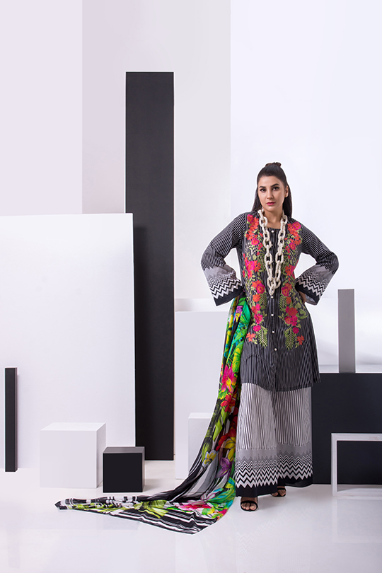 Update your summer wardrobe with the luxury Leyla lawn (2)