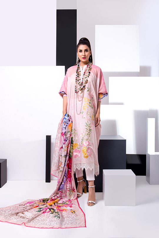 Update your summer wardrobe with the luxury Leyla lawn (3)
