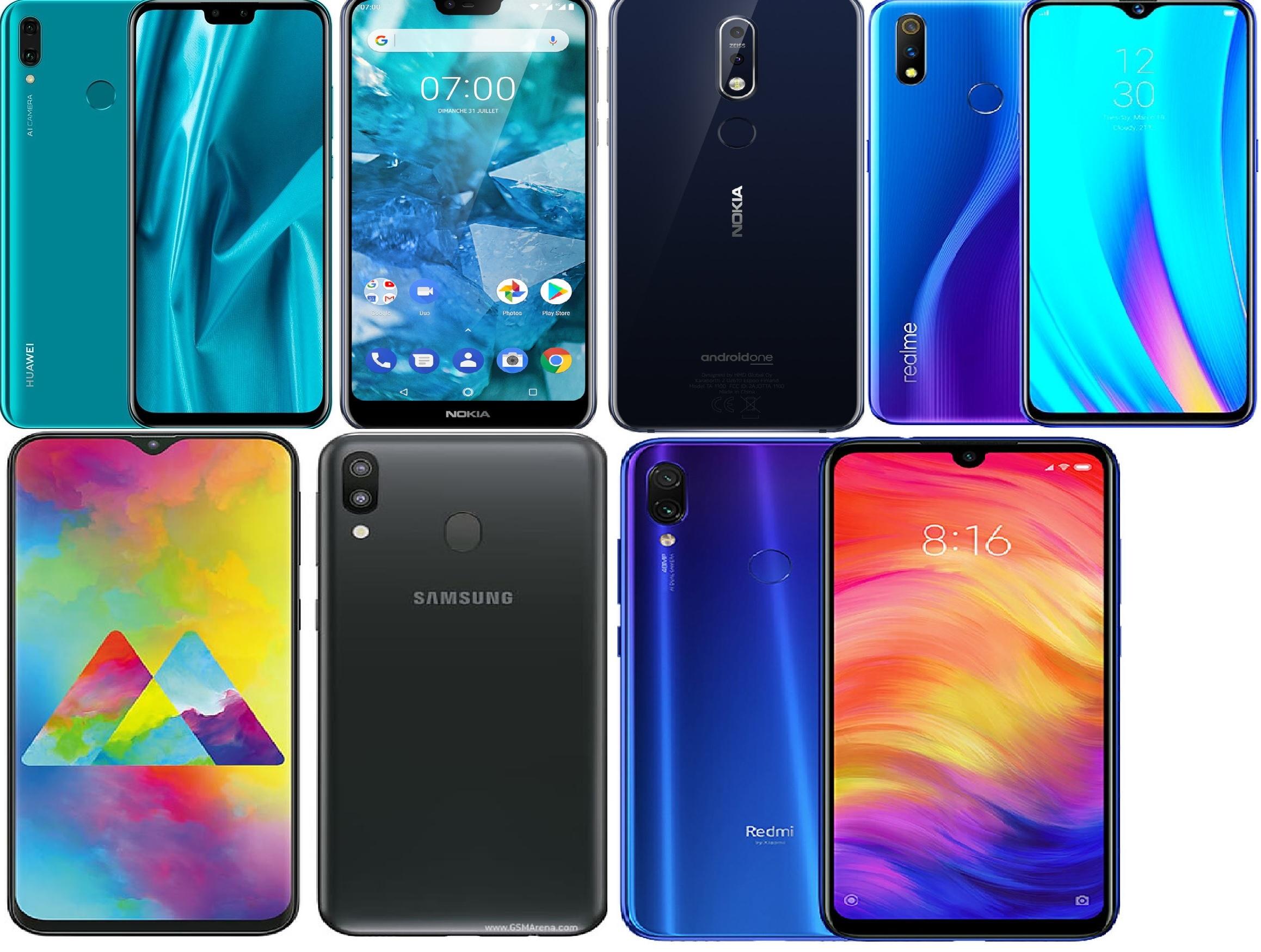 2019 Top 5 Phones You Can Buy In Range Of Rs. 35,000
