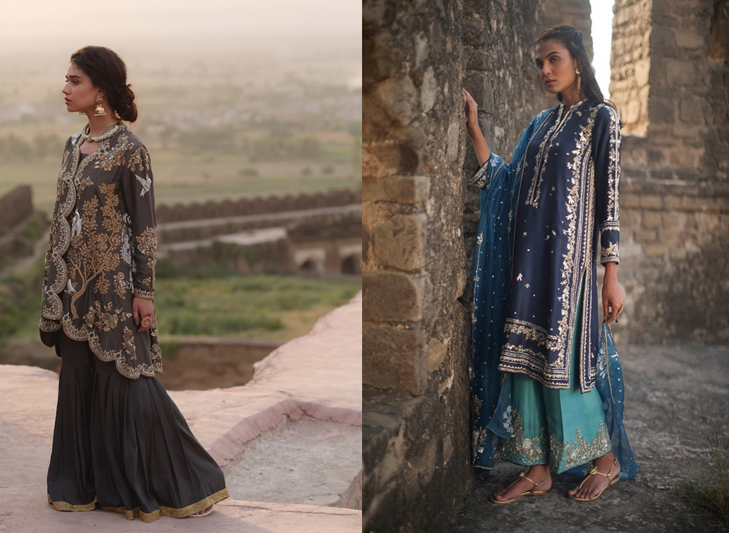 "6 Dresses From Nida Azwer's ""Rohtasgarh"" Collection 2019 (10)"