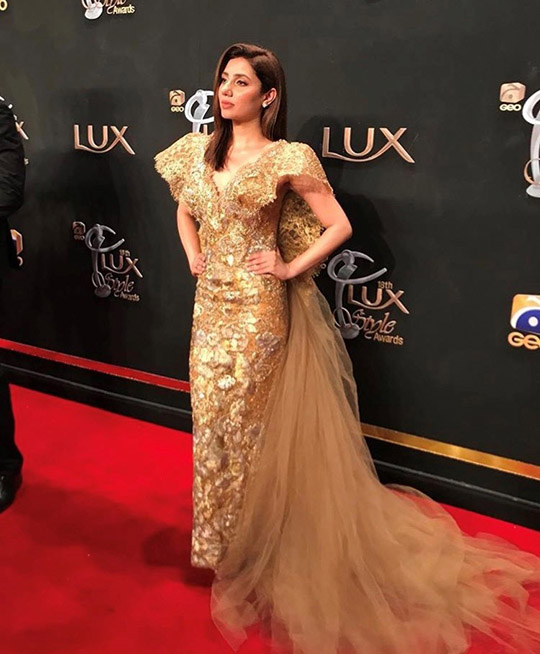 Actresses At Lux Awards Red Carpet 2019 (8)