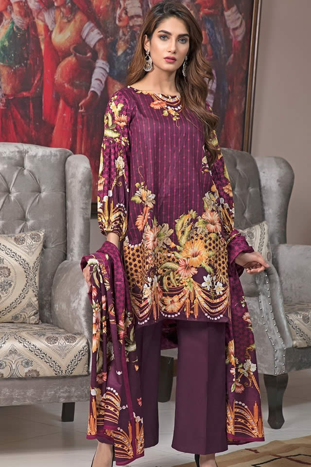 Crystal Lawn Dresses Collection 2019 By Ittehad (4)