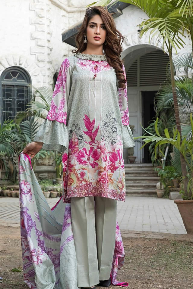 Crystal Lawn Dresses Collection 2019 By Ittehad (6)