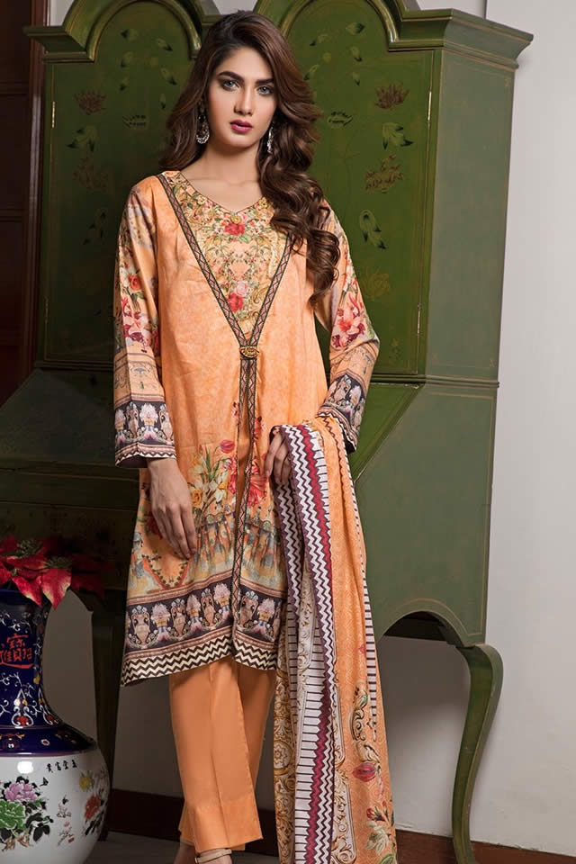 Crystal Lawn Dresses Collection 2019 By Ittehad (7)