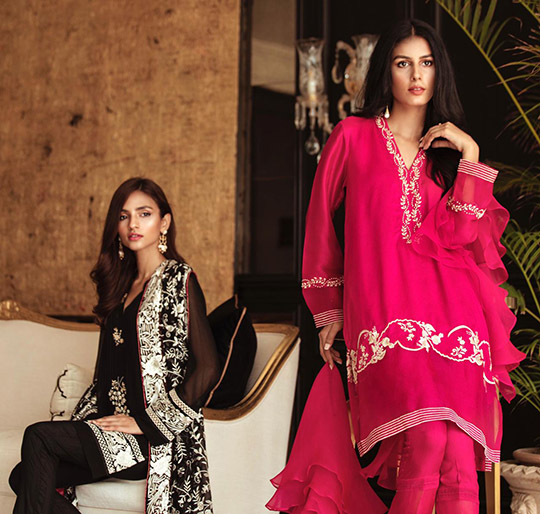 Eid Trend Dresses Collection 2019 By Mina Hasan (3)
