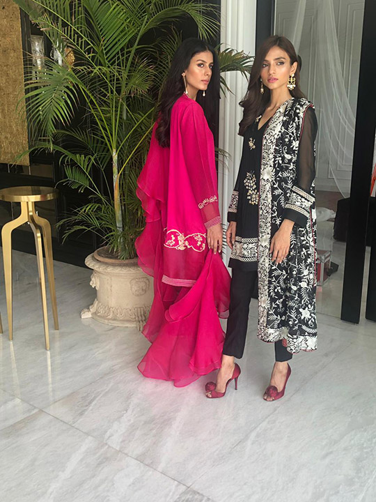 Eid Trend Dresses Collection 2019 By Mina Hasan (6)