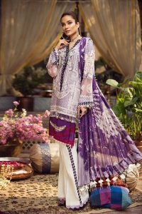 Embroidered Lawn Collection 2019 By Maryam Hussain (10)