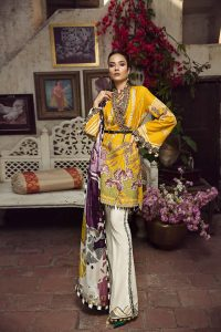 Embroidered Lawn Collection 2019 By Maryam Hussain (4)