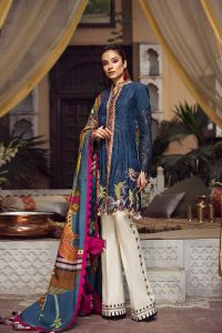 Embroidered Lawn Collection 2019 By Maryam Hussain (5)