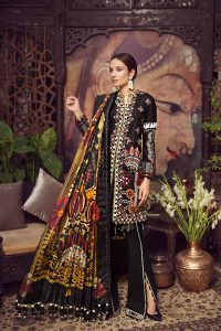 Embroidered Lawn Collection 2019 By Maryam Hussain (6)