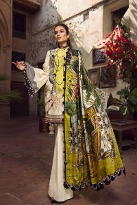 Embroidered Lawn Collection 2019 By Maryam Hussain (8)