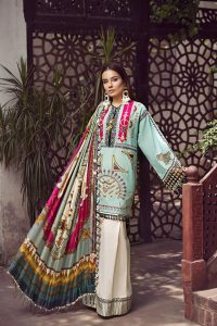 Embroidered Lawn Collection 2019 By Maryam Hussain (9)