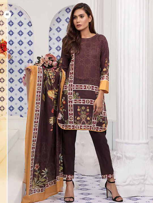 Khas Designer Lawn that you will want to use all summer (19)