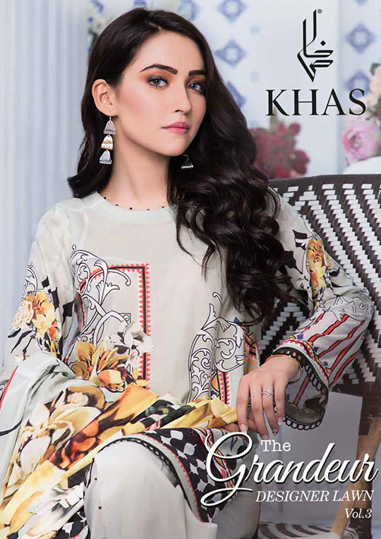 Khas Designer Lawn that you will want to use all summer (2)
