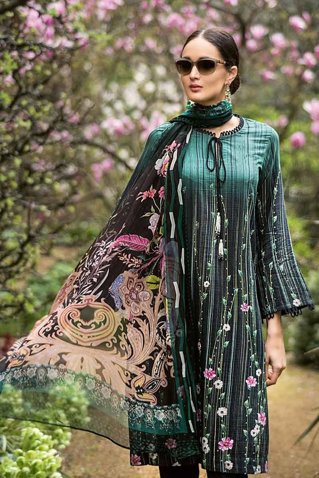 Luxury Festive Dresses Collection 2019 By Gul Ahmed (10)