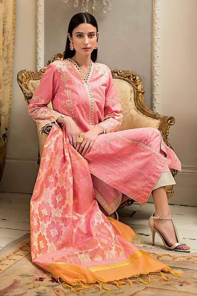 Luxury Festive Dresses Collection 2019 By Gul Ahmed (13)
