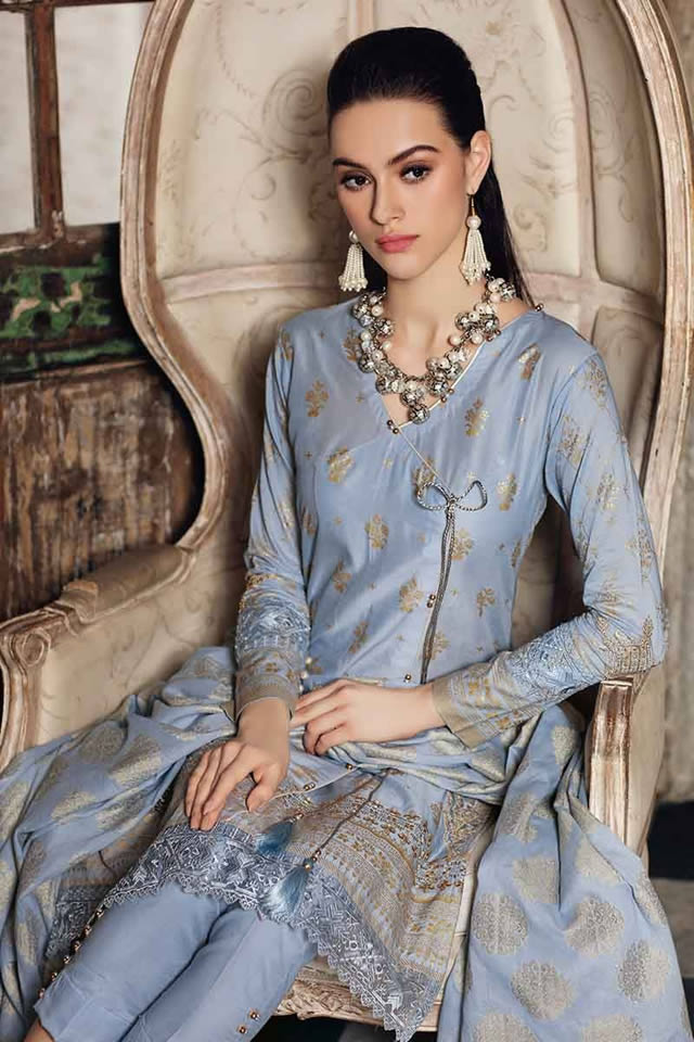 Luxury Festive Dresses Collection 2019 By Gul Ahmed (2)