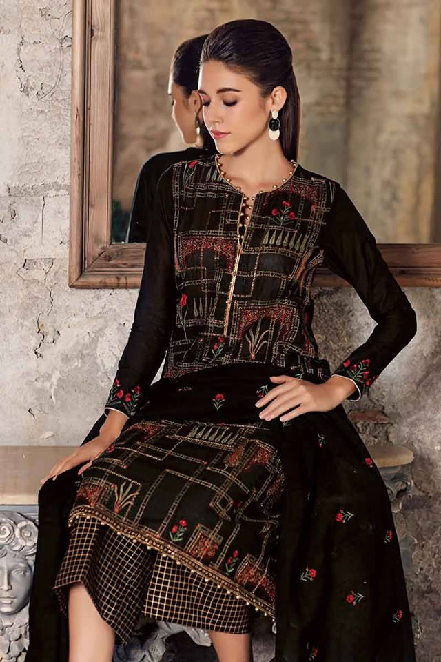 Luxury Festive Dresses Collection 2019 By Gul Ahmed (3)