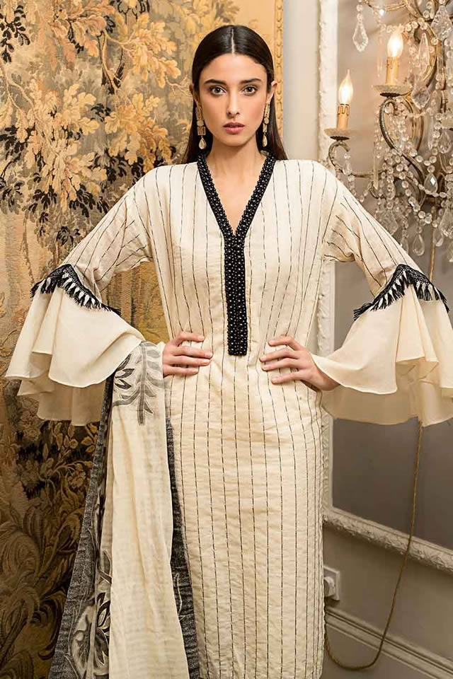 Luxury Festive Dresses Collection 2019 By Gul Ahmed (6)