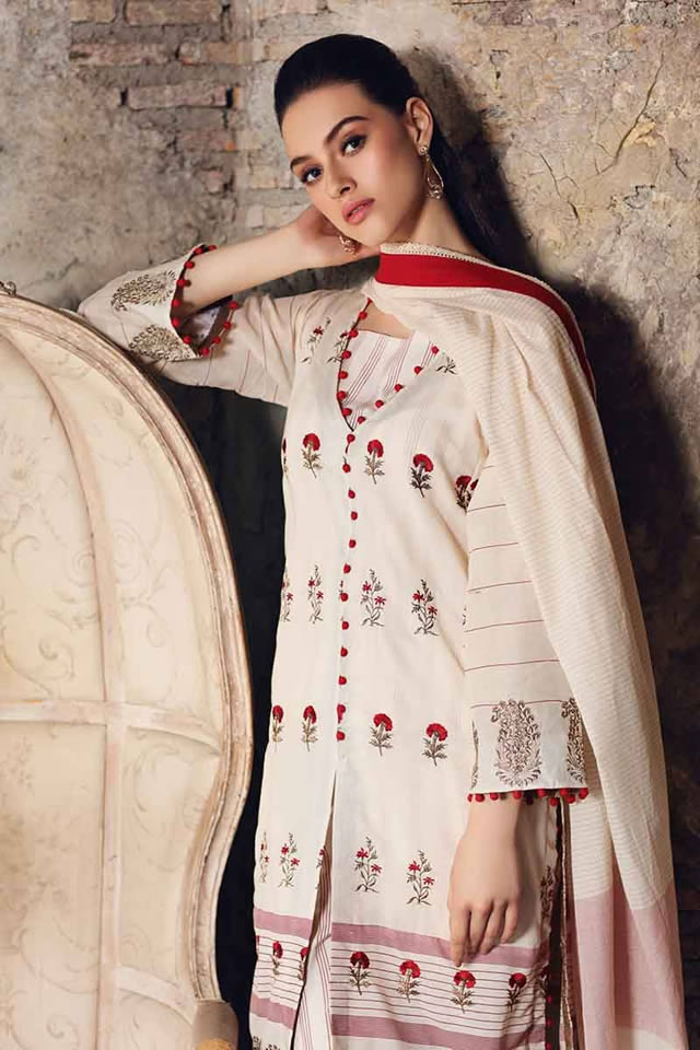 Luxury Festive Dresses Collection 2019 By Gul Ahmed (7)
