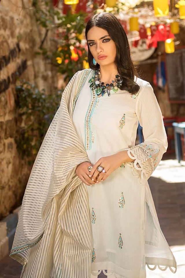 Luxury Festive Dresses Collection 2019 By Gul Ahmed (8)