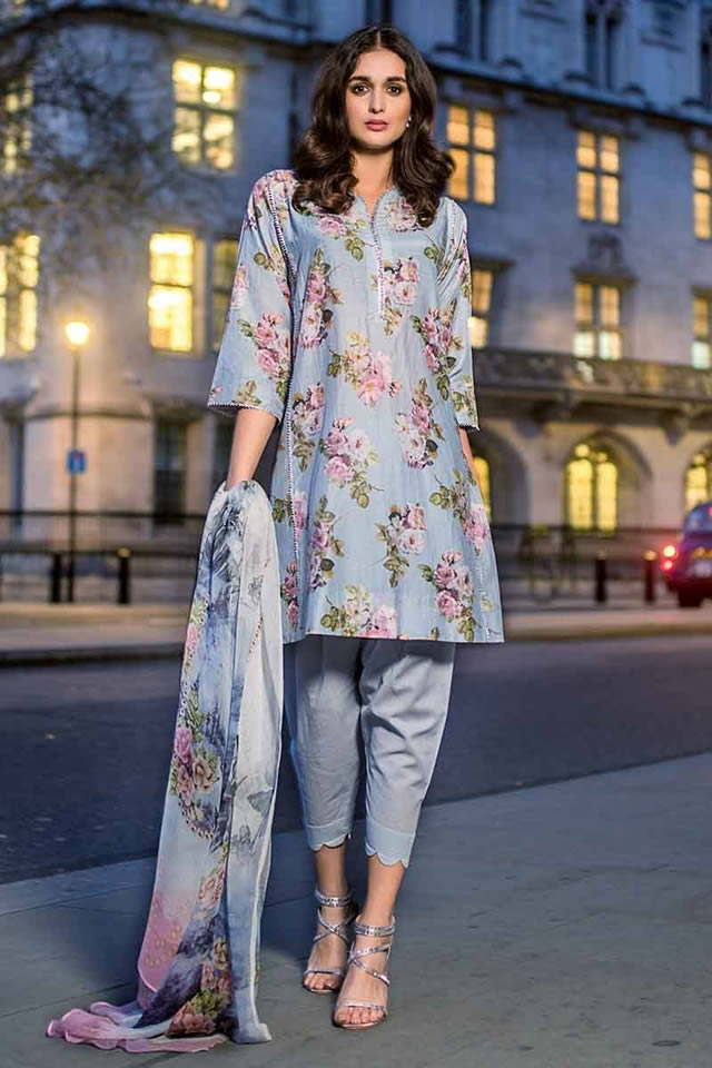 Luxury Festive Dresses Collection 2019 By Gul Ahmed (9)