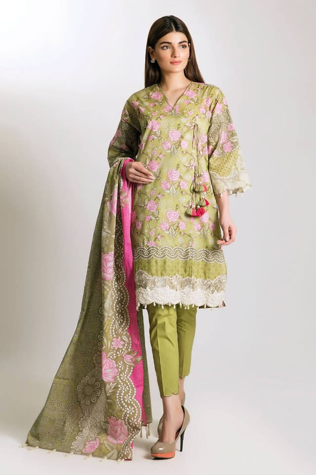 Printed Lawn Unstitched Collection 2019 By Khaadi (12)