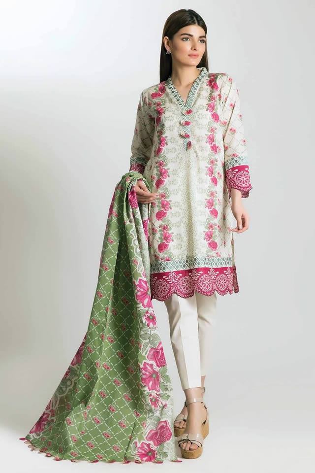 Printed Lawn Unstitched Collection 2019 By Khaadi (2)
