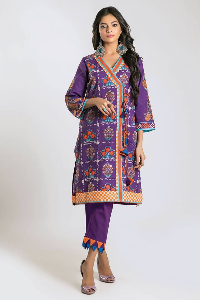 Printed Lawn Unstitched Collection 2019 By Khaadi (3)